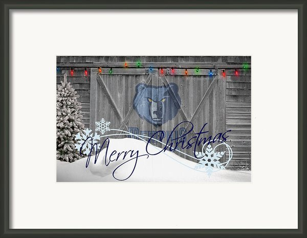 Memphis Grizzlies Framed Print By Joe Hamilton