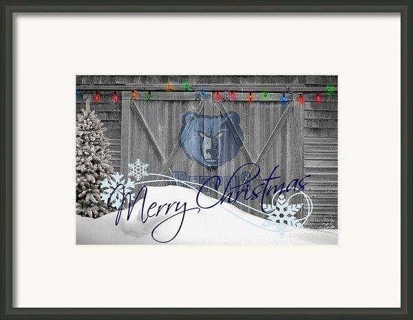Memphis Grizzlies Framed Print By Joe Hamilton
