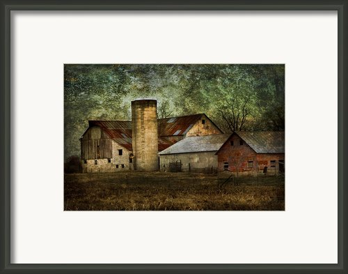 Mennonite Farm In Tennessee Usa Framed Print By Kathy Clark