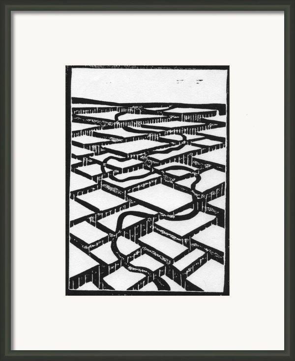 Mental Journey Framed Print By Mike Rhineheart