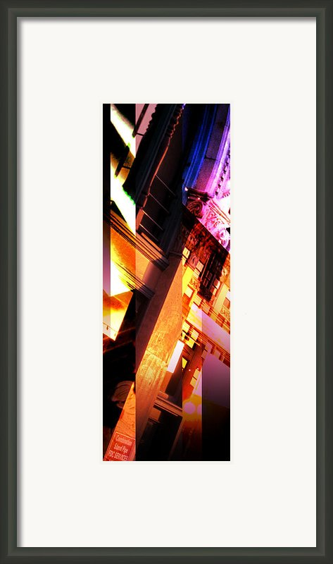 Merged - Arched Pink Framed Print By Jon Berry