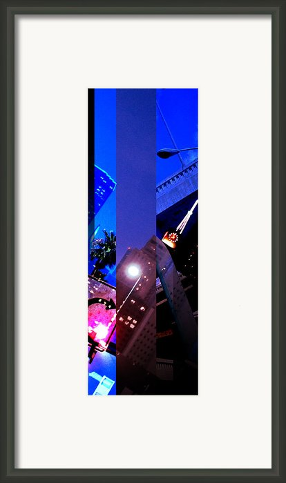Merged - Night Moves Framed Print By Jon Berry