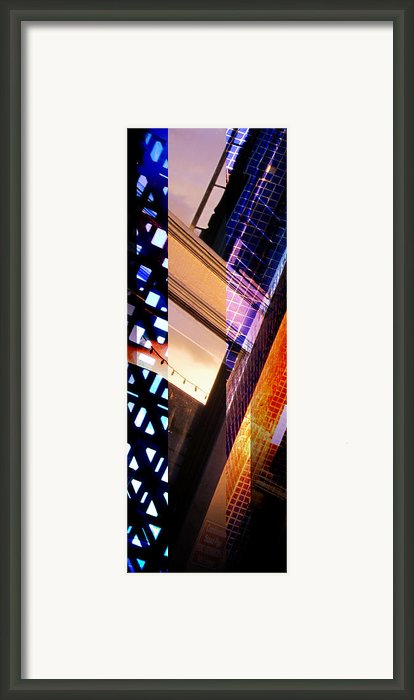 Merged - Tiled Framed Print By Jon Berry