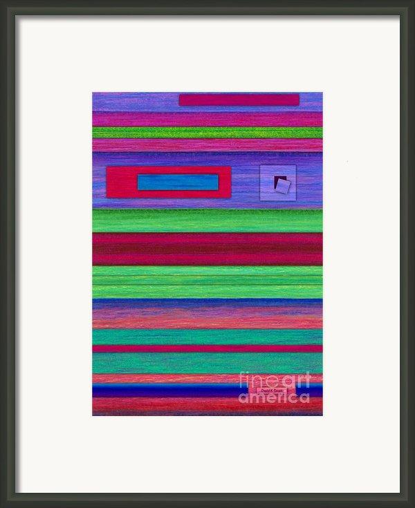 Merger Framed Print By David K Small