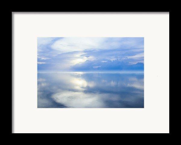 Merging Horizons Framed Print By Nila Newsom