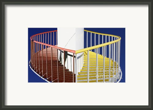 Merging Steps Framed Print By Robert Woodward