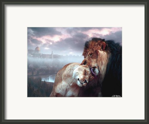 Messiah And Israel Framed Print By Bill Stephens