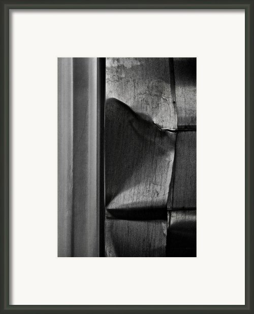 Metal Fatigue Framed Print By Odd Jeppesen