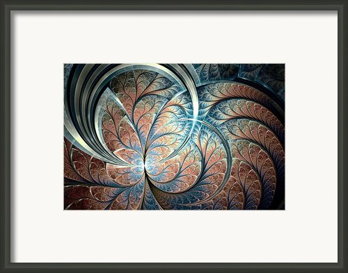 Metal Forest Framed Print By Anastasiya Malakhova