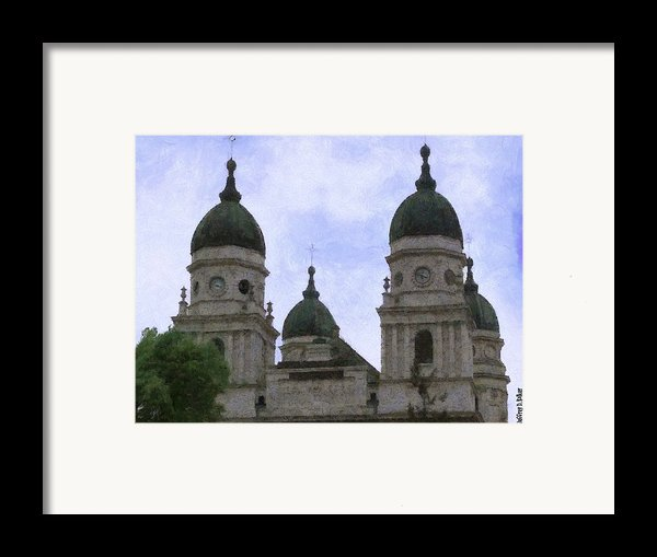 Metropolitan Cathedral Framed Print By Jeff Kolker