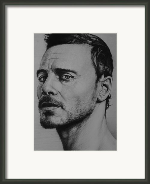 Michael Fassbender Framed Print By Steve Hunter