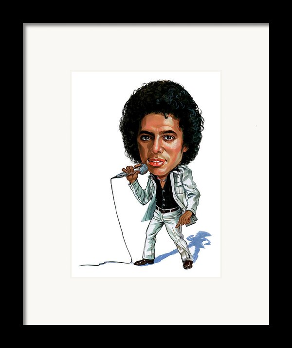 Michael Jackson Framed Print By Art