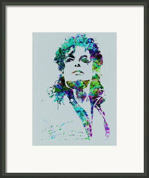 Michael Jackson Framed Print By Naxart Studio