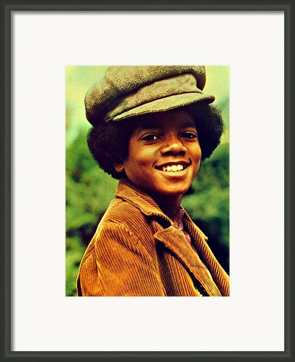 Michael Jackson Framed Print By Movie Poster Prints