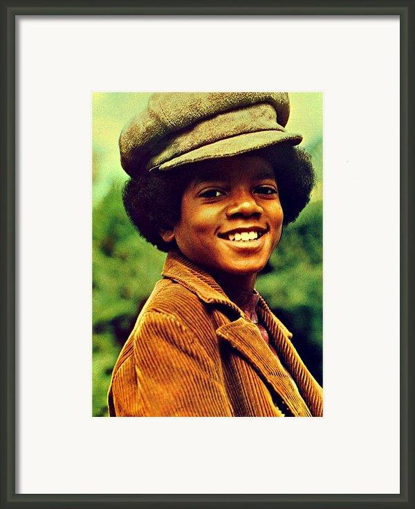 Michael Jackson Framed Print By Movie Poster Prints