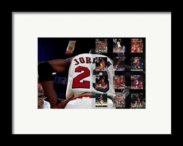 Michael Jordan Framed Print By Joe Hamilton