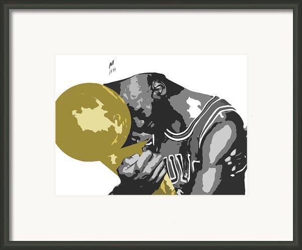 Michael Jordan Framed Print By Mike Maher