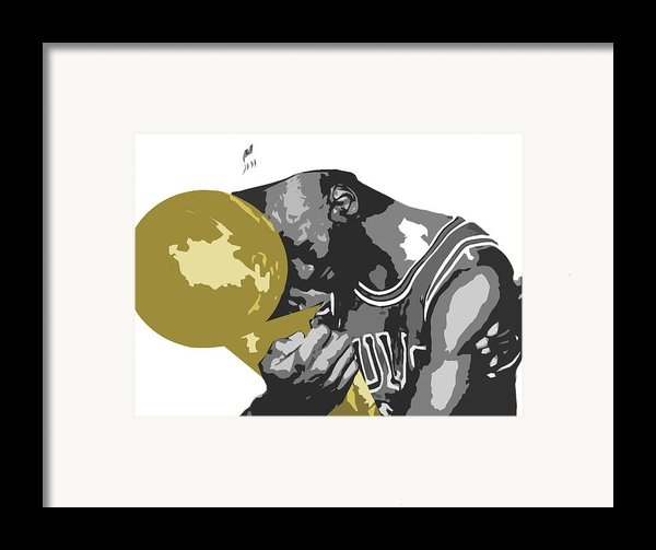 Michael Jordan Framed Print By Mike Maher