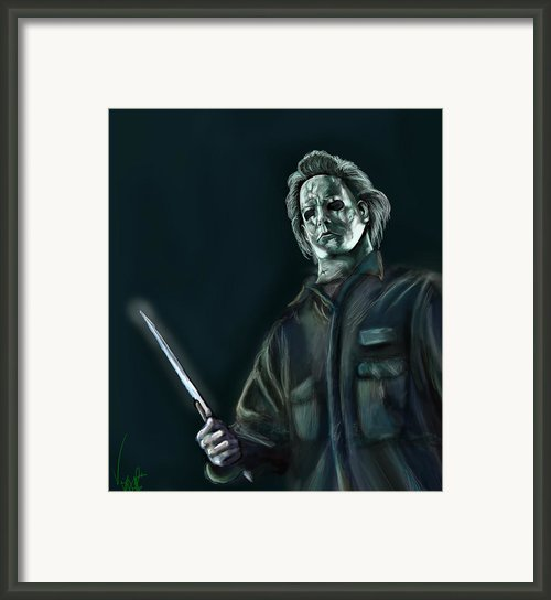 Michael Myers Framed Print By Vinny John Usuriello