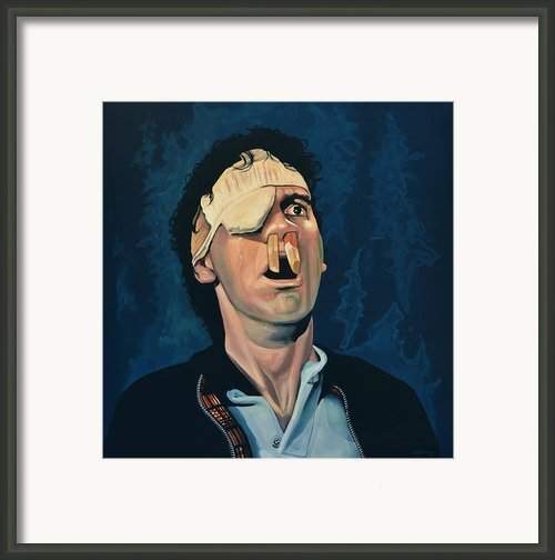 Michael Palin Framed Print By Paul  Meijering