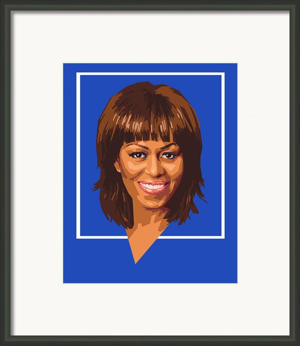 Michelle Framed Print By Douglas Simonson
