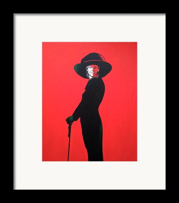 Michelle Obama Framed Print By Bryan Ahn