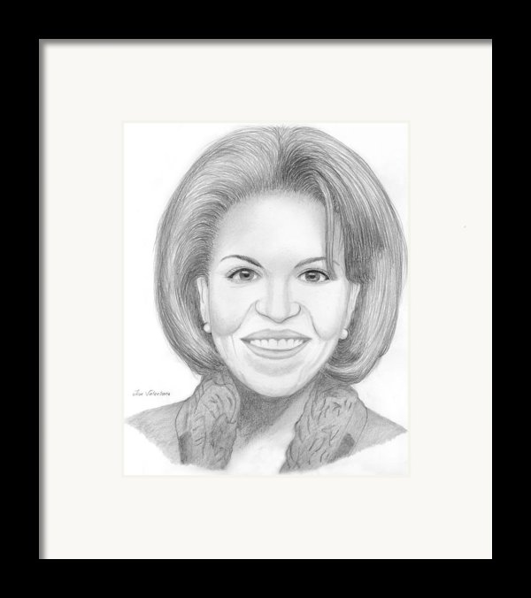Michelle Obama Framed Print By Jose Valeriano
