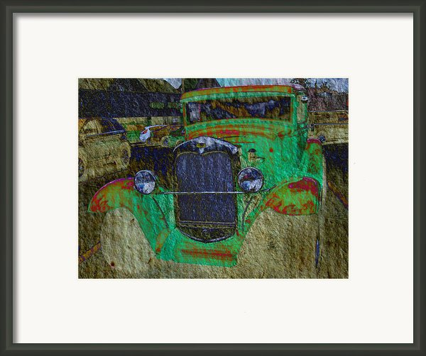 Michigan Coupe Framed Print By Mj Olsen