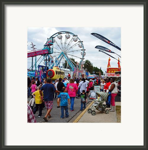 Midway Framed Print By Skip Willits