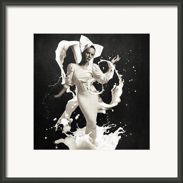 Milk Framed Print By Erik Brede