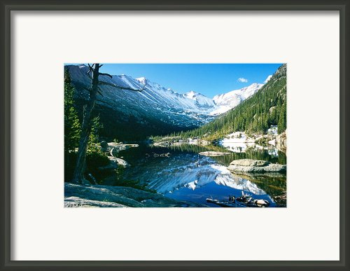 Mills Lake Framed Print By Eric Glaser