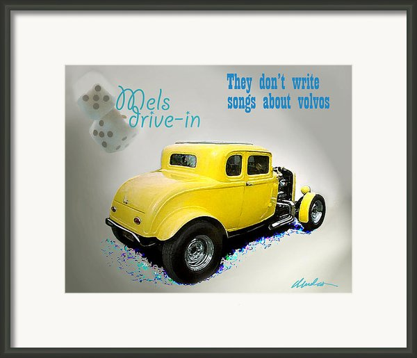Milners Coupe Framed Print By Barry Cleveland