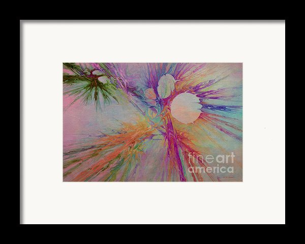 Mind Energy Aura Framed Print By Deborah Benoit