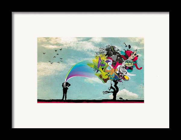 Mind Outburst Framed Print By Gianfranco Weiss