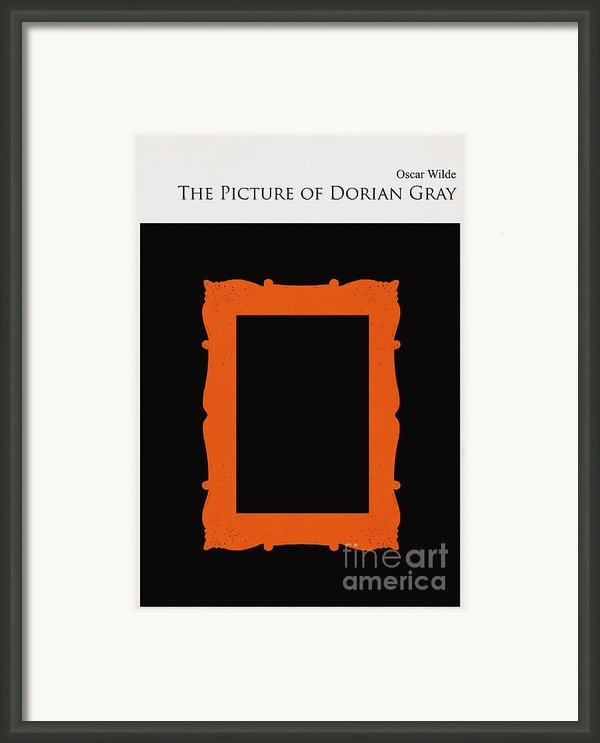 Minimalist Book Cover The Picture Of Dorian Gray Framed Print By Budi Satria Kwan
