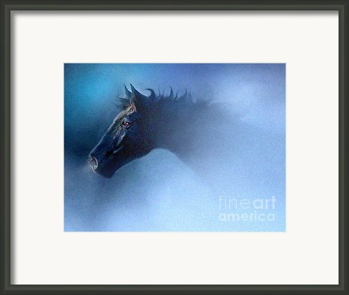 Mist Runner Framed Print By Robert Foster