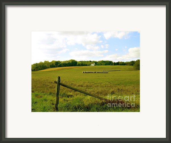 Misty Hills Farm Framed Print By Addie Hocynec