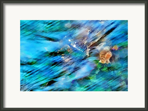 Misty Waters 2 Framed Print By Terril Heilman