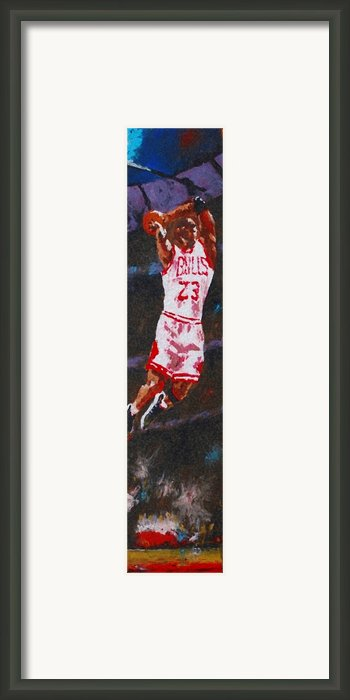 Mj Framed Print By Pete Lopez