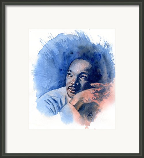 Mlk Day Framed Print By Ken Meyer Jr