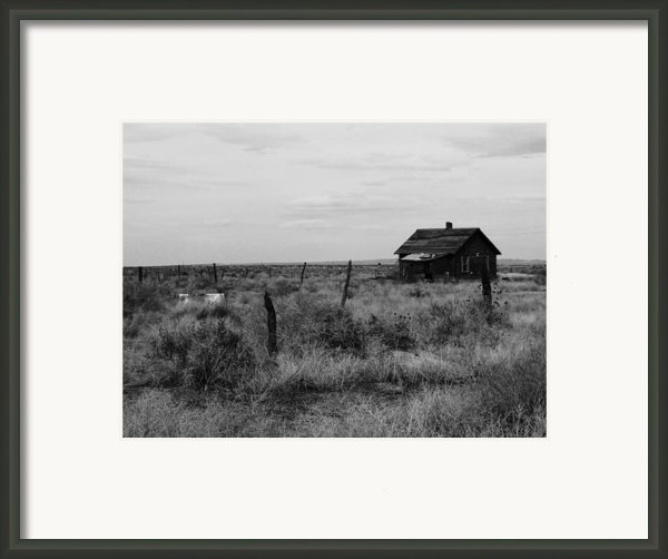 Model Home Framed Print By Anna Villarreal Garbis