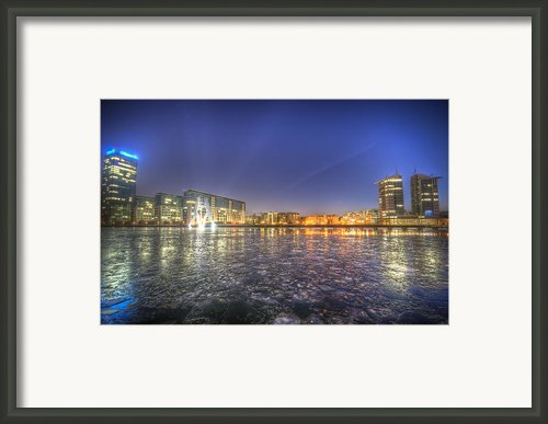 Modern Skyline  Framed Print By Nathan Wright