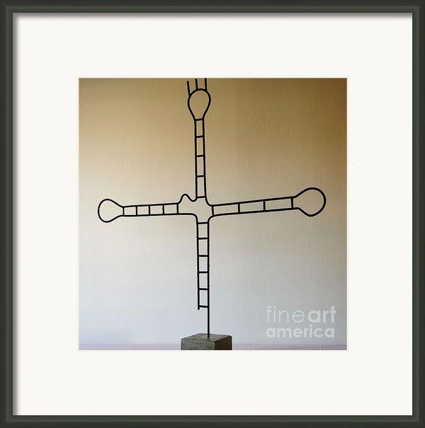 Molecular Religion Framed Print By Franco Divi