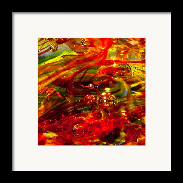 Molten Bubbles Framed Print By David Patterson
