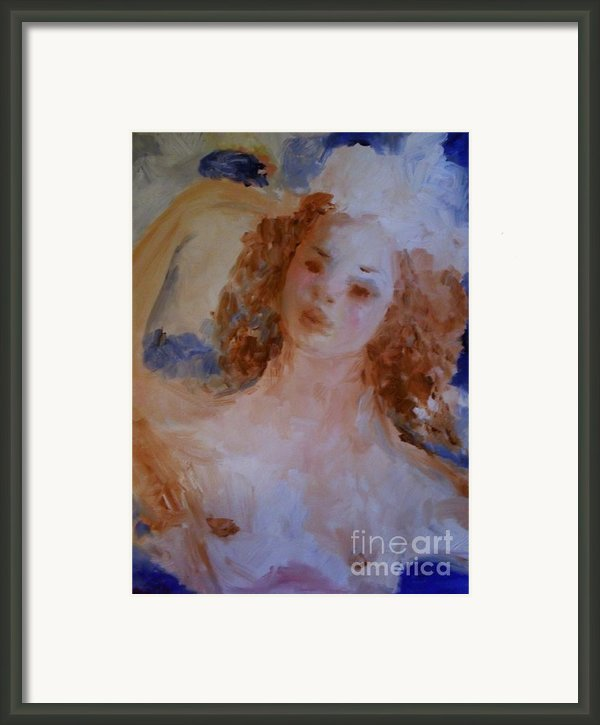 Mom Near Jupiter Framed Print By Laurie D Lundquist