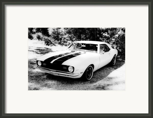 Monochrome Camaro Framed Print By Motography Aka Phil Clark