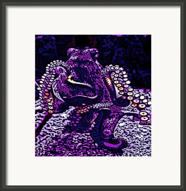 Monster Of The Deep Framed Print By George Pedro