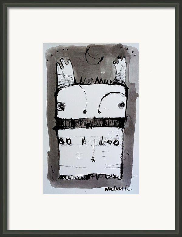 Monstra No. 1 Framed Print By Mark M  Mellon