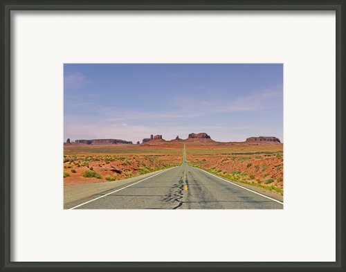Monument Valley - The Classic View Framed Print By Christine Till