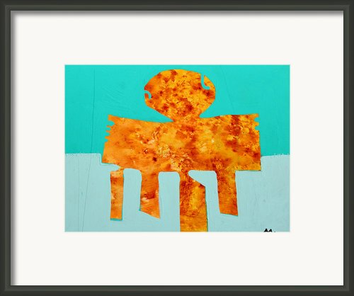 Monumentum No 8 Framed Print By Mark M  Mellon